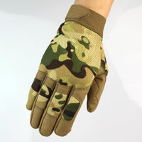 Autumn Winter New Multicam Airsoft Army Military Shooting Gear Full Finger Gloves Warm Protecting Gloves 5 Colors