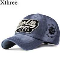Xthree ritzy jeans baseball caps fashion snapback cap cap hat for men and women hat gorras casquette