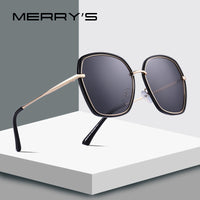 MERRY'S DESIGN Women Luxury Shield Polarized Sunglasses Metal Temple UV400 Protection S'6226