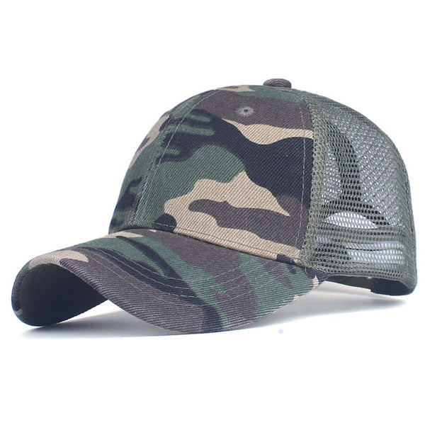 Xthree camouflage baseball cap mesh cap for men women  snapback Hat for men bone gorra  casquette fashion hat