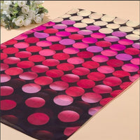Cute Women's Scarf Colorful Dots Print Scarf Skinny Chiffon Scarves Sun Protection Wraps Muslim Hijab Head Wraps 4Colors