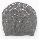 Xthree Winter beanies Women Hat knitted skullies wool female fashion casual ski caps thick warm hats for women
