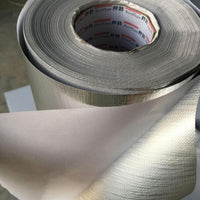 width 40cm,50cm tape, aluminum foil glassfiber adhesive cloth,  fireproof, waterproof ,Hot ,cold protective.