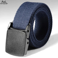 Waist Tactical Adjustable OutdoorBelt  Military Nylon Belt Men Army Style Belt Automatic Metal Buckle 2018