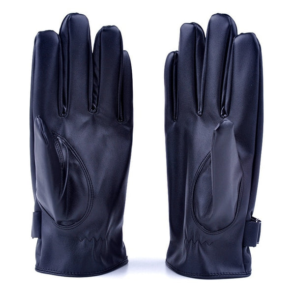 Screen Gloves Windproof Gloves PU Leather 2 Styles High Quality Winter Gloves Full Fingers Gloves