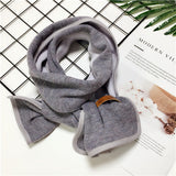2018 new autumn and winter models children's fashion tender and lovely children's scarves cotton warm scarf handmade edging