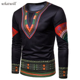 3d printed africa clothing mens fashion african clothes casual robe africaine hip hip dashiki t-shirts