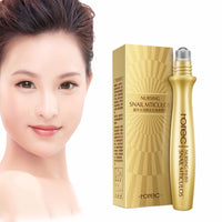 24K Gold Eye Cream Contour Cream Remove Black Circle Wrinkles New Collagen Firming Repair Serum Makeup Maquiagem