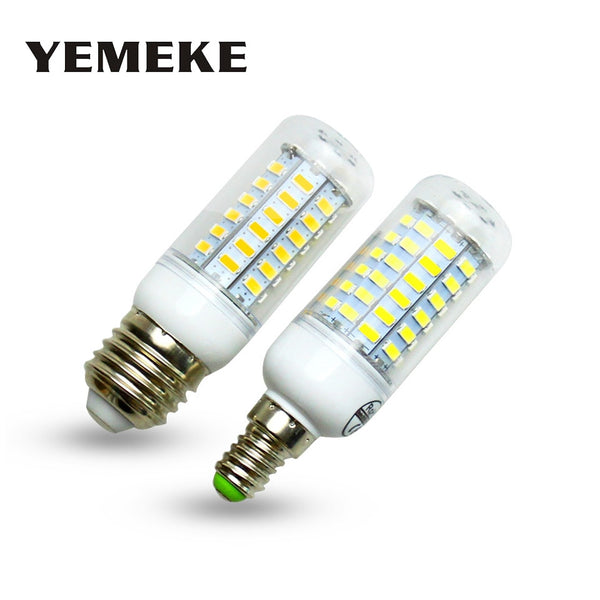 Super Bombillas LED Bulb E27 E14 SMD5730 E27 LED Lamp 36 48 56 69leds 220V lampada LED light Bulb Chandelier led lights for home
