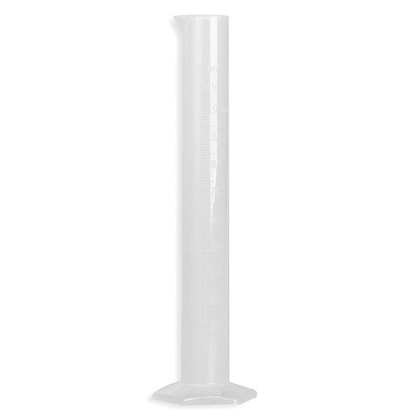 100ml Translucent Plastic Measuring Cylinder Graduated Measuring Cylinder Tools Chemistry Laboratory Test School Supplies