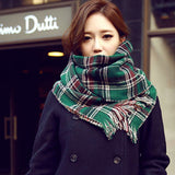 2018 New fashion women winter shawl and wraps thick warm blanket scarf hooded 5 colour