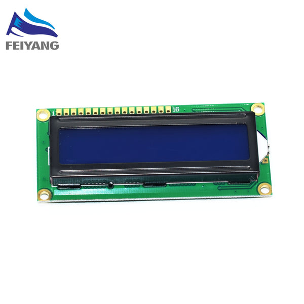 1PCS LCD1602 LCD 1602 blue screen with backlight LCD display 1602A-5v