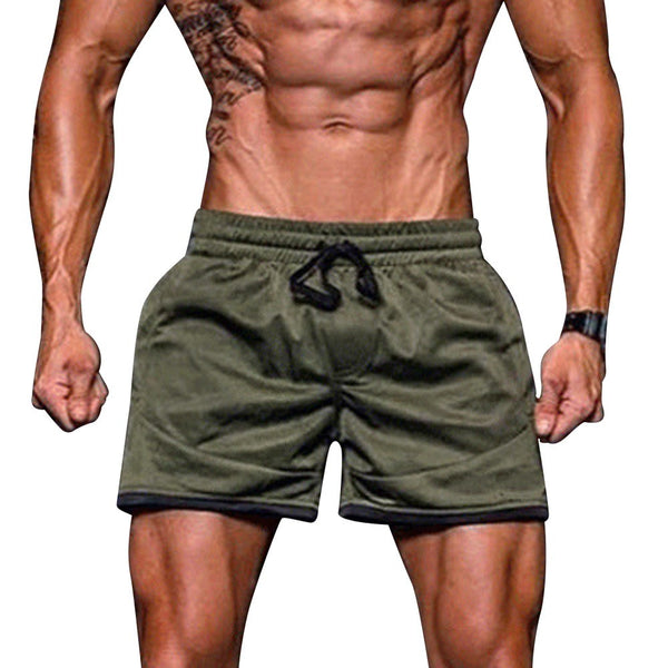 Men Sport Fitness Jogging Elastic Stretchy Bodybuilding MuscleBermuda Sweatpants