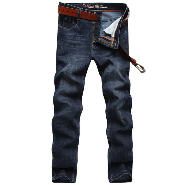 Free Shipping 2018 New Spring Summer Outwear Men's Jeans Youth Casual Straight Men's Trousers Long Jeans D80