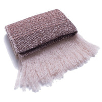 Autumn and winter British style Pinstripe tassel New hot women's  elegant generous simple temperament elegant scarf travel