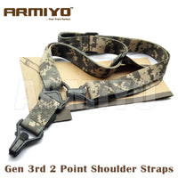 Armiyo Tactical MS Gen 3rd 2 Point Airsoft Gun Multi Mission Sling Rifle Shooting Harnesses m4 Paintball Accessories
