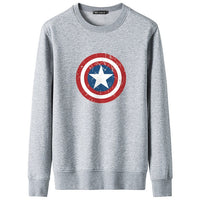 Fashion Captain America Print Hoodies Men Hooded Sweatshirts Superhero 3D Printed Casual Hoodie Pullover Trainingspak Streetwear