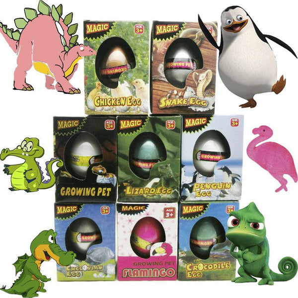 Magic Hatching Dinosaur Egg Revivable Egg Growing in Water Pets Children Kids Gift Toy Animal