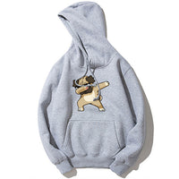 Fashion Animal Dog Print Sweatshirt Hoodies Men Hip Hop Pullover Autumn Streetwear Hoodie Sweatshirts For Couples Clothes XS~4XL