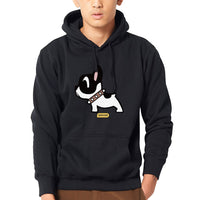 French Pug Dog Print Mens Hoodies Hombre Hipster Brand Casual Sweatshirts Men Global Sales Autumn Hoodie Man Sweatshirt Hoodie