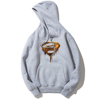 2018 New Design 3D Superman Hoodies Sweatshirts Classic Civil War Avengers Cosplay Costume Fitness Autumn Couple hooded Jacket