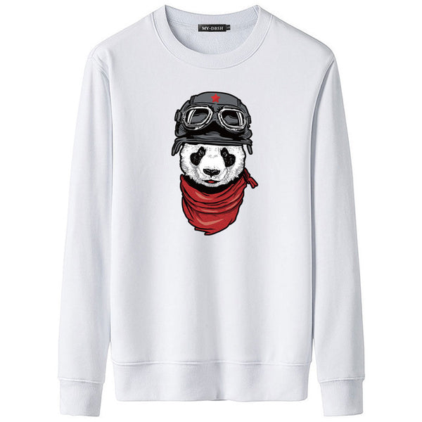 Cute Panda Printed 3D Hoodies Unisex Sweatshirts Mens Casual Coats Fashion Hooded Jackets Autumn Winter Warm Tracksuits Pullover