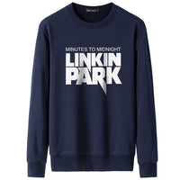 Fashion Rock Brand Linkin Park Hoodies Men Winter Casual Hooded Coats Fashion Hip Hop Rapper DJ Sweatshirts Casual Pullover Tops