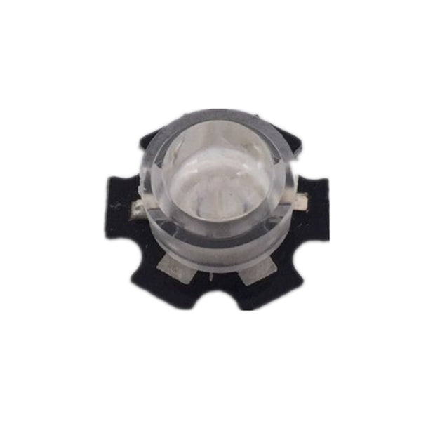 100 pcs/lot 13mm LED mini Lens 45 60 90 100 Degree Needn't Holder 1W 3W synthetical IR LED Power lenses Reflector Collimator