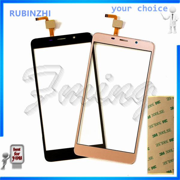 RUBINZHI Mobile Phone Touchscreen Sensor For Leagoo M8 Touch Screen Digitizer Front Glass Touch Panel Replacemen Parts+tape