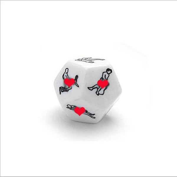 1Pc New Funny Sex Dice Adult Dices 12 Positions Sexy Romance Love Humour Gambling Adult Games Erotic Craps Pipe For Couples 25MM