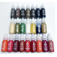 AURELIFE AUREH-212 Tattoo Ink Makeup Tattoo Ink Pigment 15ml/Bottle For Eyebrow Makeup