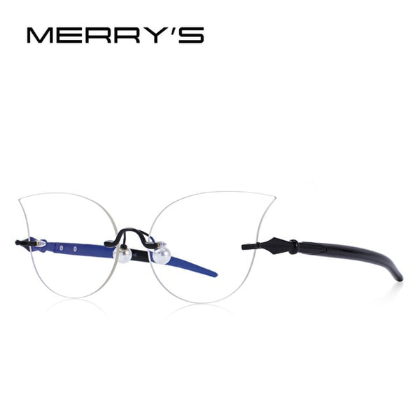 MERRY'S DESIGN Women Fashion Cat Eye Glasses Retro Optical Frames Eyeglasses S'2081