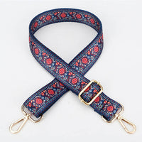 Bag Strap Women's belt for a bag accessories 120cm Woven Handles Ornament Handbags Shoulder Hanger Cross Body Messenger Belt 30%
