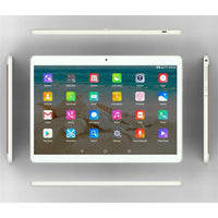 10.1 Inch Tablet PC Dual Sim Phone Pad Tablet PC Phablet with EU Plug (Golden 2+32)