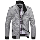 2018 New Style Men's Big size jacket leisure fashion waterproof sport coat windproof Jackets Stand collar jacket for Men G003
