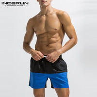 Summer Shorts 5XL Men Bermuda Shorts Patchwork Loose Fitness Joggers Workouts Bodybuilding Beach Sweatpants Boardshorts Gyms