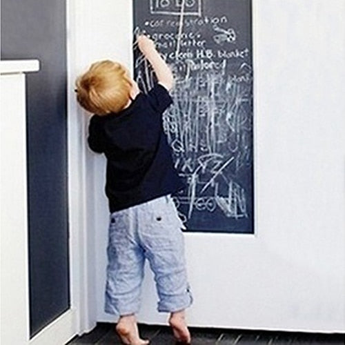 Removable Large Chalkboard Writing board Wall hanging Board for Children Gift for Kids Blackboard + 5 Chalks