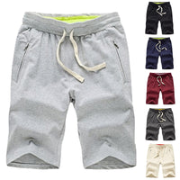Classic Summer Men's Shorts Bermuda Shorts Knee-Length Casual Shorts Sweatpants Sporting Joggers Bodybuilding Elastic Waist