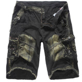 Fashion Mens Casual Pocket Beach Work Casual Short Trouser Shorts Pants