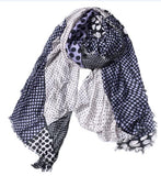 2018 New Fashion Winter Scarf  Women Warm Soft Tassel Print Cotton Women Scarves