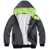Casual Men Hoodies Sweatshirts Long Sleeve Streetwear Hooded Workouts Fashion Tracksuit Hoodie Male Outerwear S-3XL Winter 2018
