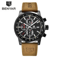 BENYAR Fashion Chronograph Sport Mens Watches Top Brand Luxury Quartz Watch Reloj Hombre 2017 Clock Male hour relogio Masculino
