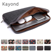 "2018 New Brand Kayond Sleeve Case For Laptop 11,12,13,14,15"",15.6"",17 inch,Bag For MacBook Air Pro 13.3"",15.4 Free Drop Shipping"