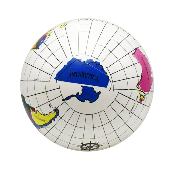 Inflatable Earth Map Simulates Leather Ball Summer Toys For Children Learning