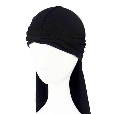 Mens Durag Bandanna Sports Du Rag Scarf Head Rap Tie Down Band Biker Cap B3