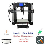 Additional soplo nozzle 3D printer kit New prusa i3 reprap Anet A6 A8/SD card PLA plastic as gifts/express shipping from Moscow