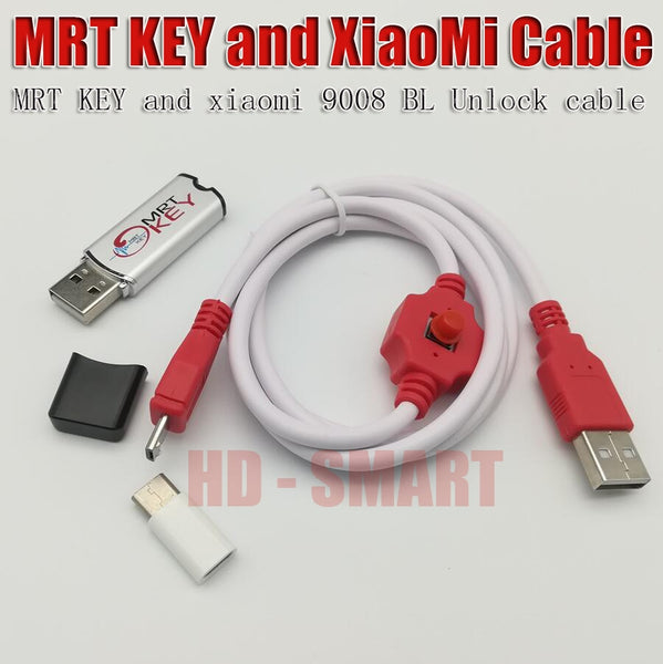 original MRT dongle 2 key xiaomi9008 cable For coolpad hongmi unlock account  remove password imei repair Fully activate version