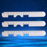 1PC Optical PD Ruler Pupil Distance Meter Eye Ophthalmic Tool