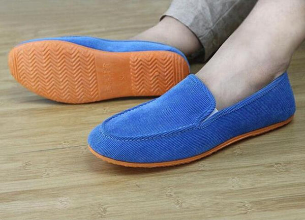 2018 fashion children's velvet shoes multi-color Flat shoes for 14 children