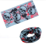 2018 Summer Pirates of the Carib Demon devil Men  Scarf Punk Rock Bandana Hat Breathable Helmet Skull Pirate Head Scarf Headband